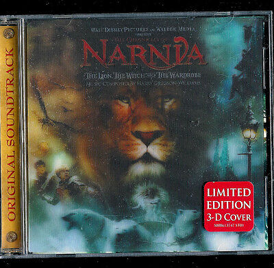 The Chronicles of Narnia: The Lion, the Witch and the Wardrobe NEW DISNEY 3-D CD
