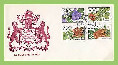 Guyana 1994 Flowers First Day Cover