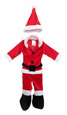 Santa Claus Xmas Christmas Baby Infant Toddler Costume