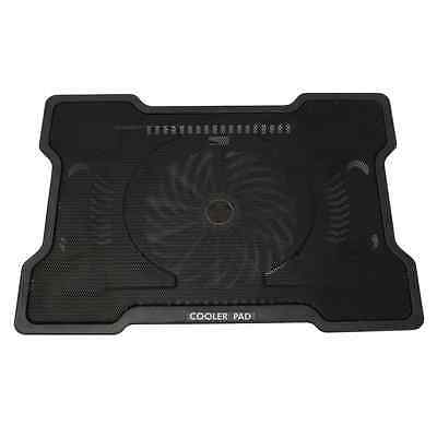 """New 17"""" One Big Fan USB Notebook Laptop PC Stand Rack Cooling Cooler Base Pad"""