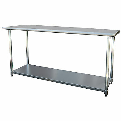 Sportsman Series 72-inch Stainless Steel Tall Work Table
