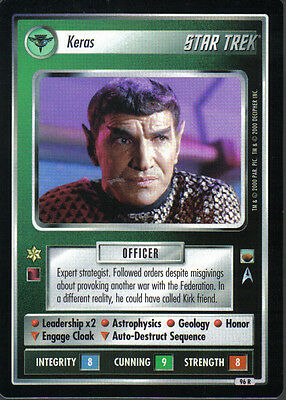 Star Trek Ccg Trouble With Tribbles Rare Card Keras