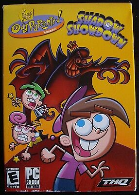NICKELODEON: THE FAIRLY ODD PARENTS: SHADOW SHOWDOWN (PC CD-ROM SOFTWARE GAME)