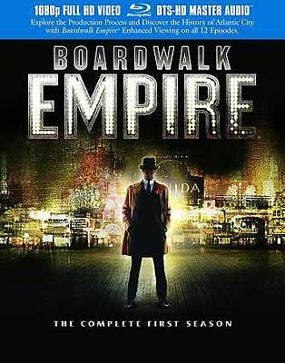 Boardwalk Empire: The Complete First Season (Blu-ray Disc, 2012, 5-Disc Set) New