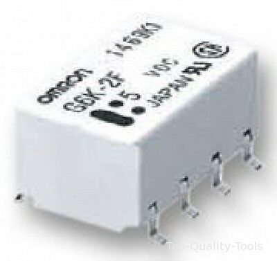 RELAY, SMD, SPCO, 5VDC, LATCHING Part # OMRON ELECTRONIC COMPONENTS G6KU-2FY 5DC