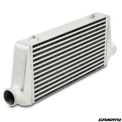 "2.5"" 63mm UNIVERSAL ALLOY DRIFT RACE CUSTOM TURBO FRONT MOUNT INTERCOOLER FMIC"
