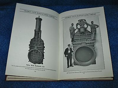 Chapman Valve Co Indian Orchard Mass. Cast Iron Fire Hydrants Early 1900 Book