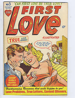 First Love #3 Super Publications CANADIAN EDITION