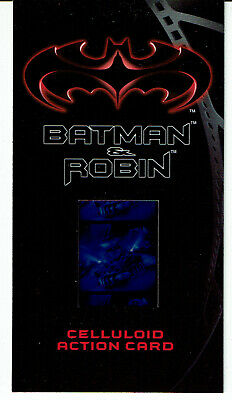 Batman And Robin Movie Widescreen Celluloid Card C-1
