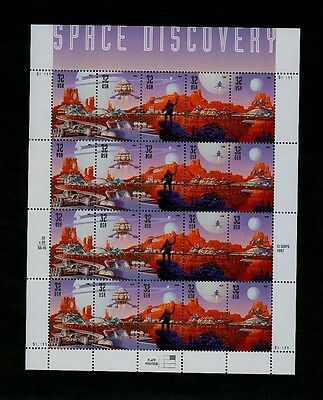 EIGHTEEN sheets of 20 - Space Discovery Mars - Scott# 3238-3242 - All PO Fresh