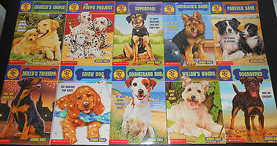 Lot of 10 Puppy Patrol Softcover Books Level 4 by Jenny Dale # 20 - 29 - EUC!