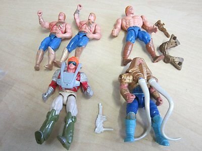 5 x Actionfigur Masters of the Universe He-Man Ikarus, u.a. 90er Jahre