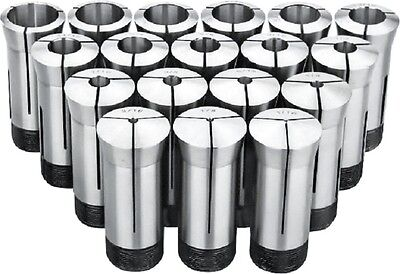 1/16 To 1-1/16 Inch By16Ths 17 Piece 5C Collet Set (3900-0013)