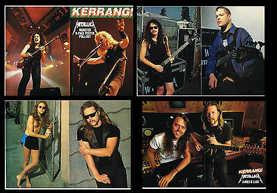 Metallica  8 pages magazine poster pull-out from England 1993