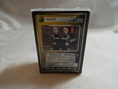 Star Trek Ccg Reflections Complete Set Of 96 Very Rare And Super Rare Foil Cards
