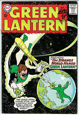 GREEN LANTERN ISSUE 24 BY DC COMICS vg+
