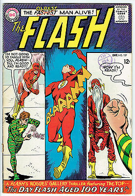 THE FLASH ISSUE NUMBER 157 BY DC COMICS vg/fn