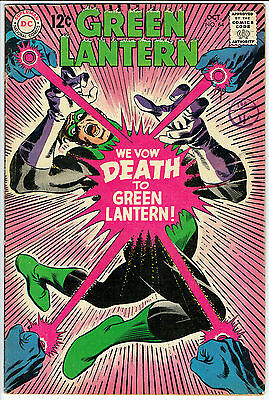 GREEN LANTERN ISSUE 64 PRODUCED BY DC COMICS vg fn