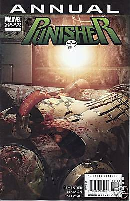 Marvel Punisher comic issue 1 Limited variant