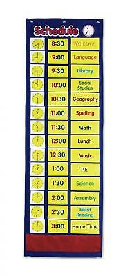Daily Schedule Pocket Chart - Classroom Management Resources