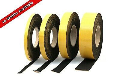 NEOPRENE RUBBER SELF-ADHESIVE STRIP - 5.0m LONG x 3mm THICK