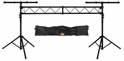 American DJ LTS-50T Portable Lighting Truss System + LTS BAG50 Carry Travel Bag