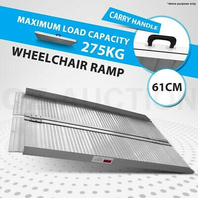 Portable Access Aluminium Folding Loading Wheelchair Ramp Scooter Van 2FT