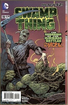 Swamp Thing #19 - VF/NM - New 52