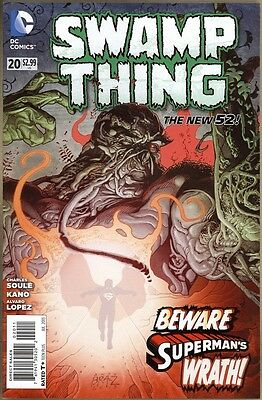 Swamp Thing #20 - VF/NM - New 52
