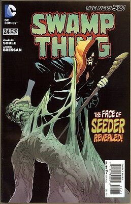 Swamp Thing #24 - VF+ - New 52