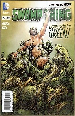 Swamp Thing #27 - NM - New 52