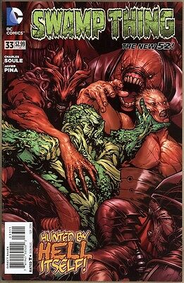 Swamp Thing #33 - NM- - New 52