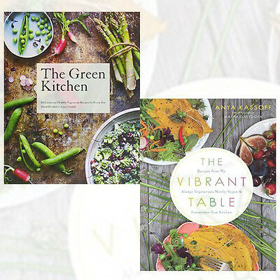 Vegetarian Recipes Collection (The Green Kitchen, The Vibrant Table) 2 Books Set