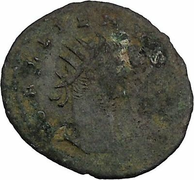GALLIENUS 266AD Hercules 11th Labor Hesprides Apple Roman Coin RARE i45957