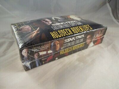 Star Trek Ccg Holodeck Complete Sealed Box Of 30 Packs