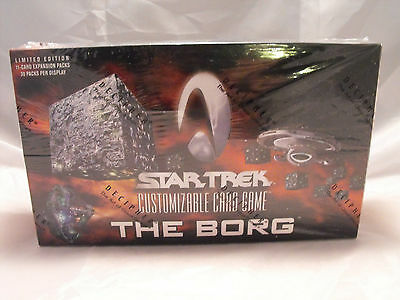 Star Trek Ccg The Borg Complete Sealed Box Of 30 Booster Packs