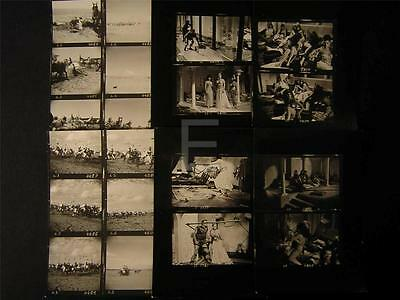 1964 The Long Ships VINTAGE 6 CONTACT SHEET LOT 34M