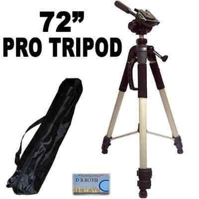 Professional PRO 72-inch Super Strong Tripod With Deluxe Soft Carrying Case For
