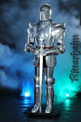 Authentic Knight Suit Of Armour with stand 185CM