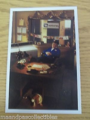 """Postcard/christmas Card Maytag """" Ole Lonely"""" New White Border"""