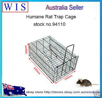 Humane Rat & Mouse Trap,Live Animal Pest Rodent Mice Mouse Control Bait Catch