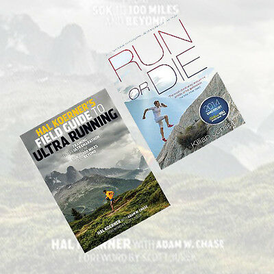 Ultra 2 Books Collection Set(Run or Die,Hal Koerner's Field Guide to Ultrarunnin