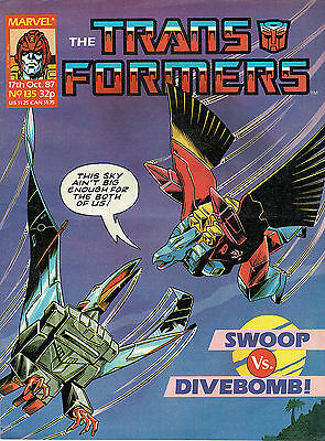 Transformes The Comic Series Issue Number 135 Vfn