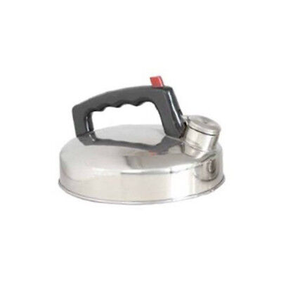 Sunncamp 1lt Whistling Caravaning Camping Fishing Kettle Stainless Steel CW3020