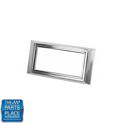 1968-69 Chevrolet Nova Chevy II Camaro Side Marker Bezel Chrome Each