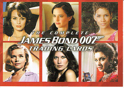 The Complete James Bond, Promotional Card P1
