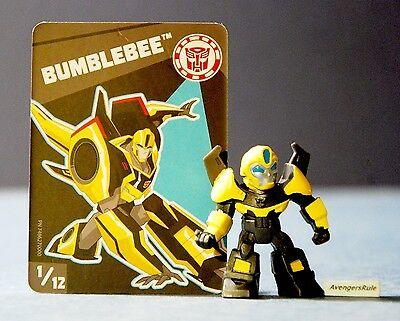 Transformers Tiny Titans Series 1 Robots in Disguise 1/12 Bumblebee
