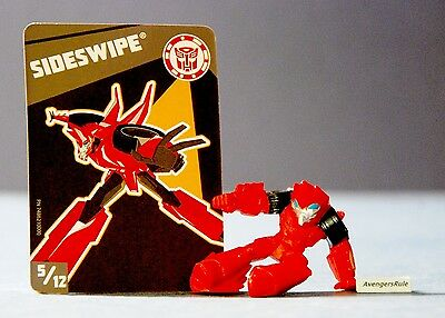 Transformers Tiny Titans Series 1 Robots in Disguise 5/12 Sideswipe