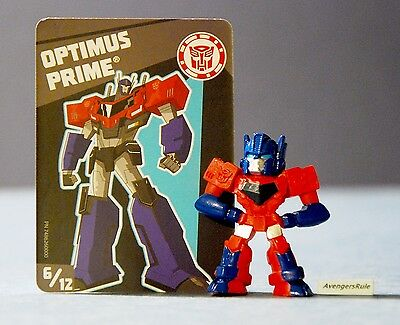 Transformers Tiny Titans Series 1 Robots in Disguise 6/12 Optimus Prime