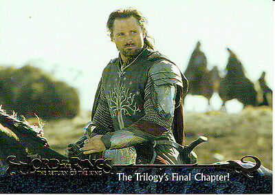 Lord Of The Rings Return Of The King Promotional Card P1